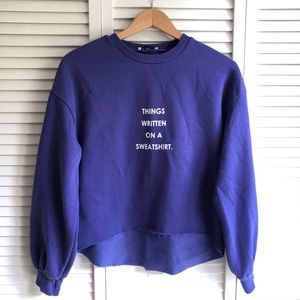 Sweatshirt / crewneck